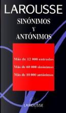 Larousse sinónimos y antónimos by Inc Distribooks
