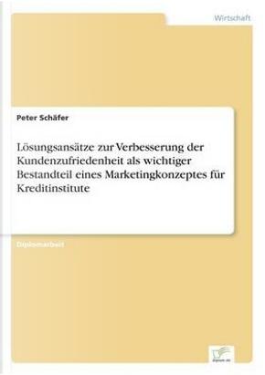 Lösungsansätze zur Verbesserung der Kundenzufriedenheit als wichtiger Bestandteil eines Marketingkonzeptes für Kreditinstitute by Peter Schäfer