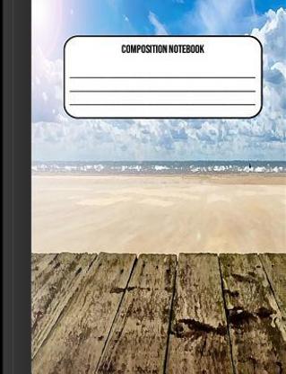 Composition Notebook by Jennifer James