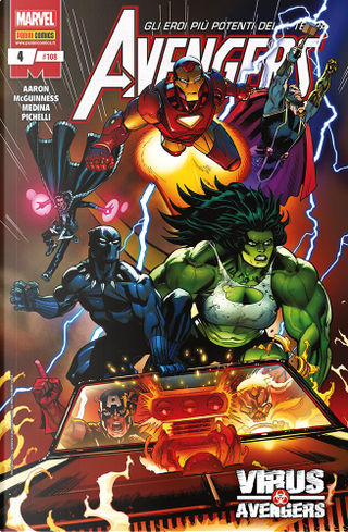 Avengers n. 108 by Ed McGuinness, Jason Aaron, Paco Medina