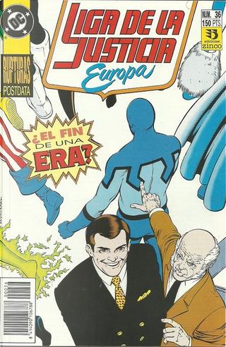 Liga de la Justicia Europa #36 by Gerard Jones