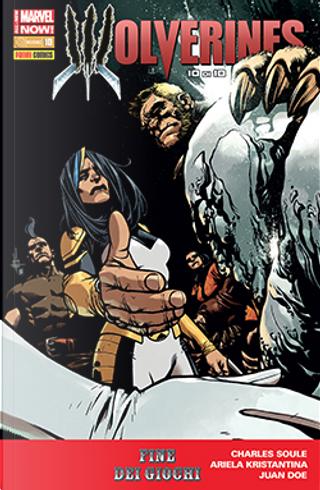Wolverine n. 322 by Charles Soule