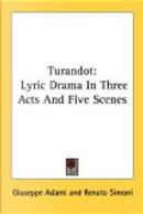 Turandot by Giuseppe Adami, Renato Simoni