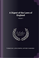 A Digest of the Laws of England; Volume 1 by Thomas Day