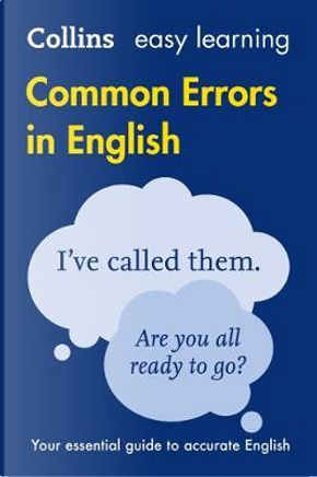 Collins Common Errors in English by COLLINS DICTIONARIES