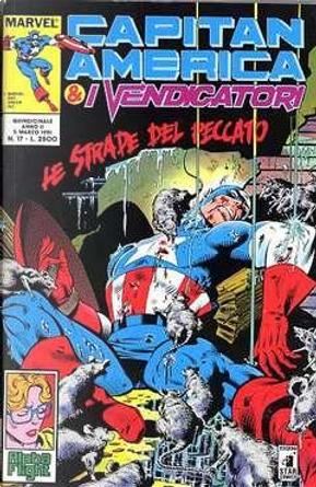 Capitan America & i Vendicatori n. 17 by J. M. DeMatteis, John Byrne, Roger Stern