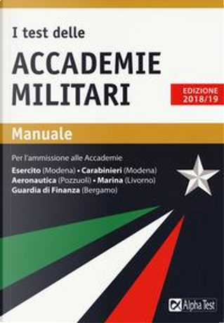 I test delle accademie militari. Manuale by Massimo Drago