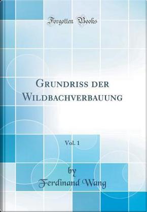 Grundriss der Wildbachverbauung, Vol. 1 (Classic Reprint) by Ferdinand Wang