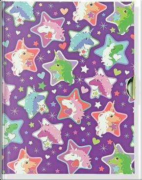 Sparkly Unicorns Locking Journal by Inc. Peter Pauper Press
