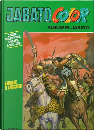 Jabato Color #32 by Francisco Darnís, Víctor Mora