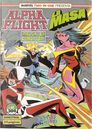 MARVEL TWO-IN-ONE: ALPHA FLIGHT & LA MASA vol.1 nº 61 - Forum by