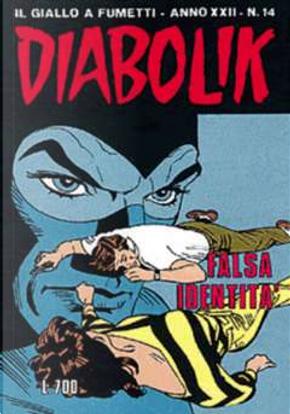 Diabolik anno XXII n. 14 by Angela Giussani, Luciana Giussani