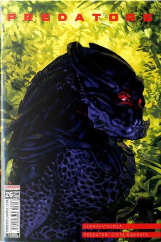 Predator #26 by Charles Moore, David Lapham