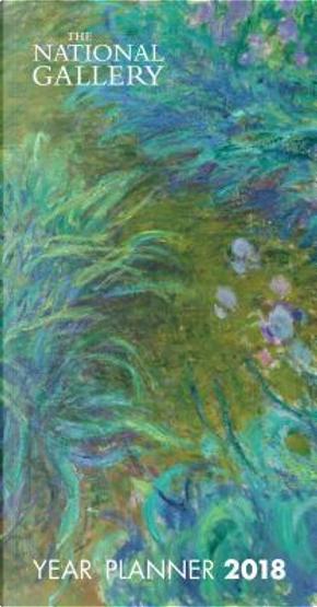 National Gallery - Monet Irises 2018 Planner by Flame Tree Studios