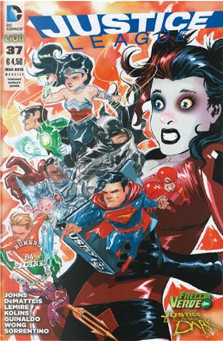Justice League n. 37 - Variant Harley Quinn by Geoff Jones, J. M. DeMatteis, Jeff Lemire