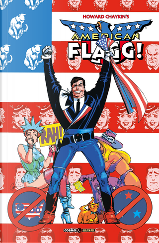 American Flagg! vol. 6 by Howard Chaykin, Mindy Newell