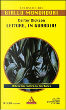 Lettore, in guardia! by John Dickson Carr