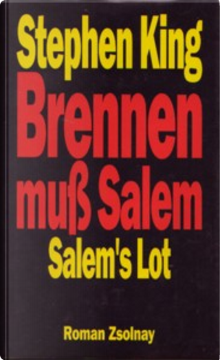 Brennen muß Salem by Stephen King