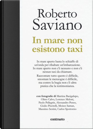In mare non esistono taxi by Roberto Saviano
