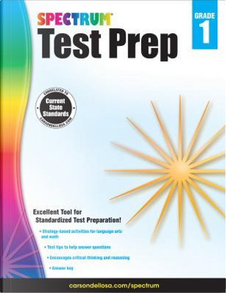 Spectrum Test Prep, Grade 1 by Spectrum