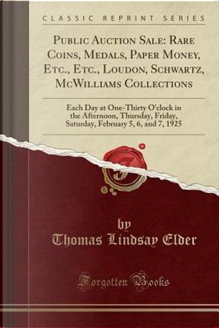 Public Auction Sale by Thomas Lindsay Elder