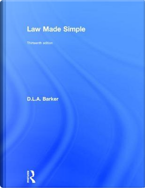 Law Made Simple by David Barker