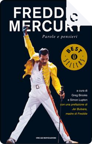 Freddie Mercury by Greg Brooks, Simon Lupton