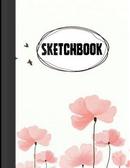 Sketchbook Pink Flowers Art by Jason Patel