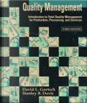 Quality Management by David L. Goetsch, Stan Davis