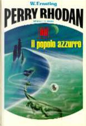Il popolo azzurro by Kurt Mahr, Antonio Bellomi, Renato Pestriniero, Edna Maine Hull