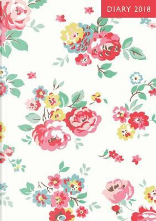A6 2018 Diary - Wells Rose (Cath Kidston Stationery) by Cath Kidston