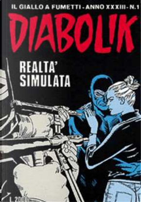 Diabolik anno XXXIII n. 1 by Patricia Martinelli, Stefano Ferrario