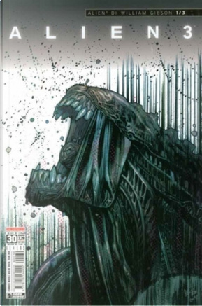 Aliens #30 by Johnnie Christmas, William Gibson