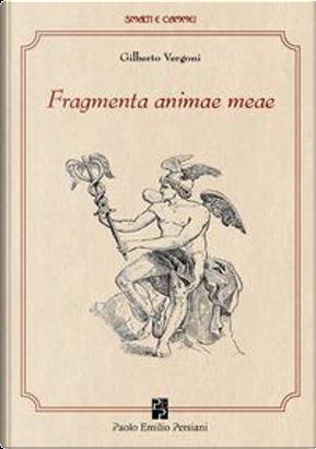 Fragmenta animae meae. Ediz. illustrata by Gilberto Vergoni