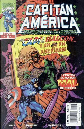 Capitán América: Centinela de la libertad Vol.1 #8 (de 12) by Mark Waid