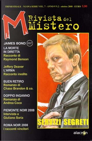M - Rivista del Mistero n. 7 n. s. (Ottobre 2008) by Jeffery Deaver, Andrea Coco, Raymond Benson, Chase Brandon