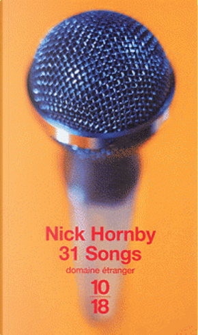 31 Songs. by Nick Hornby