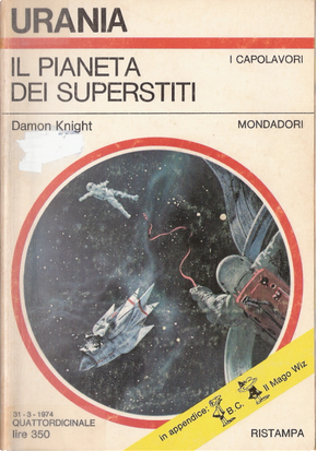 Il pianeta dei superstiti by Damon Knight