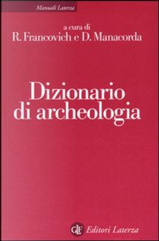 Dizionario di archeologia by