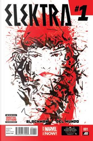 Elektra Vol.3 #1 by Haden Blackman, Marco D'Alfonso