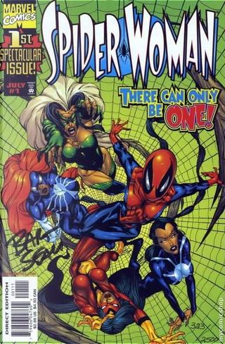 Spider Woman Vol.3 #1 by Frank Dunkerley, John Byrne
