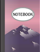Notebook Abstract Mountain by Jason Patel