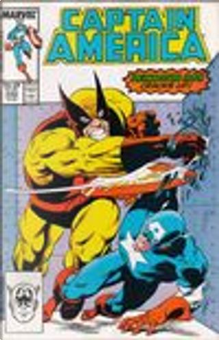 Captain America Vol.1 #330 by Mark Gruenwald