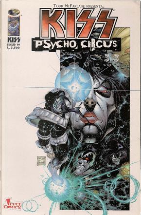 Kiss Psycho Circus 3 di 3 by Angel Medina, Brian Holguin, Kevin Conrad