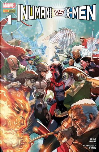 Inumani vs. X-Men #1 by Charles Soule, Jeff Lemire