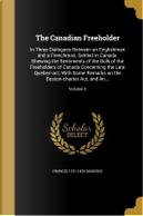 CANADIAN FREEHOLDER by Francis 1731-1824 Maseres