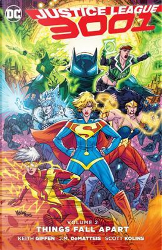 Justice League 3001 2 by Keith Giffen
