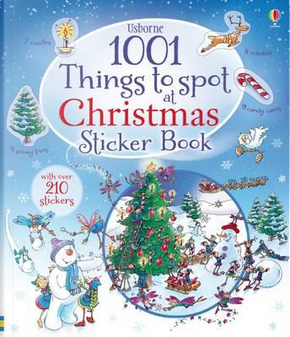 1001 Christmas Things to Spot Sticker Book (1001 Things to Spot Sticker Books) by Alex Frith