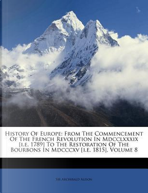 History of Europe by Alison Archibald