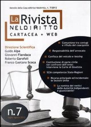 La rivista di Neldiritto (2012) by AA.VV